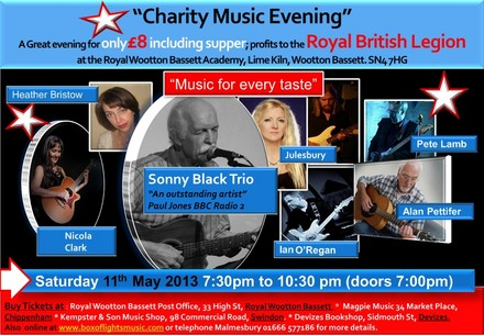 A picture for Charity Music Events